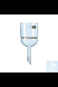 Filternutsche DURAN® Filternutsche DURAN® 3 D, Porengröße 4, Volumen 50 ml
