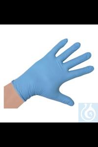 Handschuhe Nitril gepudert, Größe S