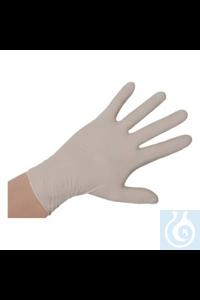 Handschuhe Vinyl, gepudert