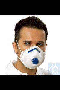 Atemschutzmaske Mandil, Filterklasse FFP2/V Atemschutzmaske mit farbcodiertem Nasenbügel, Cool...