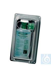 Wandbox für Augenspülflasche Sehr robuste und langlebige Wandbox mit Klarsichtdeckel für...