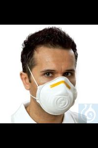 Atemschutzmaske Mandil, Filterklasse FFP1 Atemschutzmaske mit farbcodiertem Nasenbügel zum Schutz...