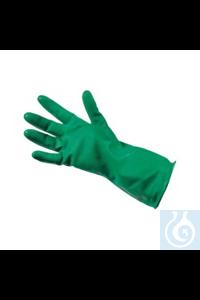 Chemikalien-Schutzhandschuhe M3-PLUS Chemikalien-Schutzhandschuhe der Kategorie 3 in grün aus...