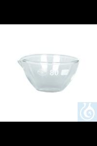 Abdampfschale Glas Ø 40 mm
