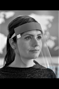 Gesichtsschutzvisier (10er-Pack, Mehrweg-Visiere) 1 Packung enthält 10 Stück  Schützt die...