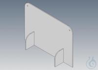 Spuckschutzwand Bitte beachten Sie: Die Spuckschutzwand 50cm breit x 35x cm hoch hat KEINE...