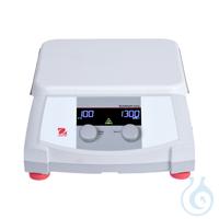Hotplate-Stirrer e-G51HS10C 230V EU Temperature Range: Ambient + 5°C – 380°C...