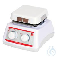 Hotplate-Stirrer, Mini, HSMNHS4CAL, EU 100-1200 U/min, bis 500°C, Capacity...