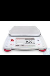 Portable Balance Scout, STX123 EU Readability (d) 0,001g, capacity 120 g,...