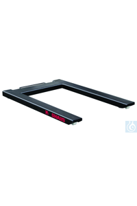 Floor Scale, VE1500P31P  Two carbon steel eye bolts make it easier to lift...