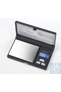 Tragbare Waage Gold, YA102, Ablesbarkeit (d) 0,01g, Kapazität 100g,...