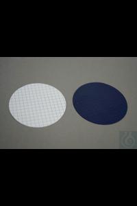 Membraanfilter 47 mm - 0,45 µm, MCE wit met zwart raster, steriel