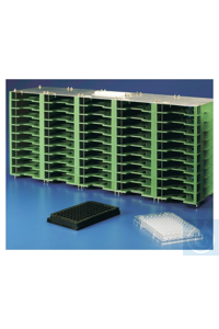 Nunc™ Microplate Plastic Storage Racks 10 Tall Each Rack, Microplate Nunc™ Microplate...