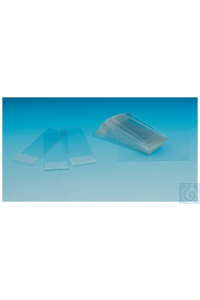Nunc™ Mikroskop-Objektträger Permanox plastic microscope slide 25 x 75mm Case of 100 Nunc™...