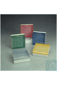 4Articles like: Cryoboxes Nunc Polycarbonate MAX-100 CryoStore Boxes 100 (3.6mL vials) Gray...