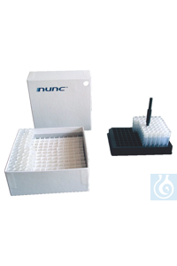 Dense Storage Options 1.0mL Nunc Cryobank Tubes, Blank, with Caps, Sterile, Loose Packed Case of...