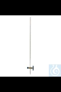 4artículos como: Bureta con llave recta de PTFE, clase A, 10 ml Bureta con llave recta de...