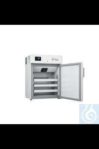 Armario de refrigeración Lab Care modelo LER15S, 150 L, puerta ciega, 3 estantes