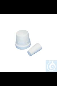 Tapón de celulosa esterilizable, núm. 45P, 25 Uds.