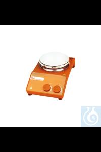 Agitador magnético con calefacción LBX Instruments, modelo H20, con placa cerámi