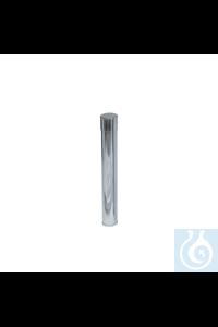 Tubo para esterilizar pipetas de acero inoxidable, Ø 50 mm x alt. 50 mm Tubo...