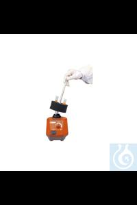 Varilla de prensión de los tubos con los adaptadores, se usa con las...