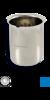Vaso de precipitados de acero inoxidable, 250 ml Vaso de precipitados de acero inoxidable, 250...