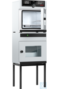 Vacuum oven VO29, 29l, 20-200°C, pressure control 5-1100mbar Vacuum oven VO29, with TwinDISPLAY,...