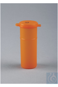 Capitol Vial  Flip-Top Containers for Light-Sensitive Samples 2 oz. Amber...