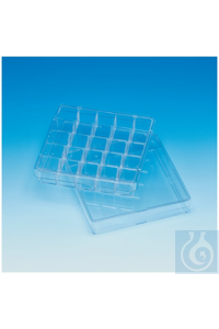 Sterilin™ 100mm Square Petri Dishes Petrischale, 100 mm Each 4 120...