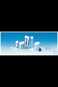 Sterilin™ Röhrchen mit Schraubkappen Tube, printed label 10mL - Polyethylene...
