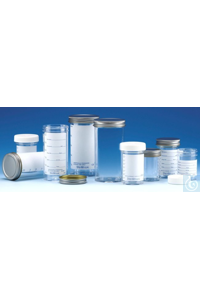 Sterilin™ Polystyrene Containers, 60mL to 250mL 60 ml - Metall Keiner...