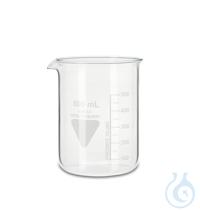 Becher Rasotherm ISO (niedere Form), 600 ml Becher Rasotherm ISO (niedere...