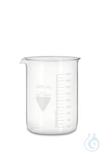 Becher Rasotherm ISO (niedrige Form), 2000 ml Becher Rasotherm ISO (niedrige...