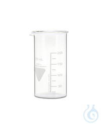 Becher Rasotherm ISO (hohe Form), 250 ml Becher Rasotherm ISO (hohe Form),...