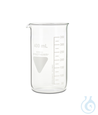 Becher Rasotherm ISO (hohe Form), 400 ml Becher Rasotherm ISO (hohe Form),...