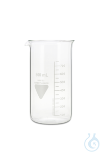 Becher Rasotherm ISO (hohe Form), 800 ml Becher Rasotherm ISO (hohe Form),...
