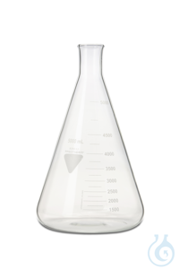 Erlenmeyerkolben Rasotherm ISO enghalsig, 5000 ml Erlenmeyerkolben Rasotherm...