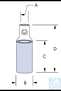 Entgasungsfilter Ø 12,5 x 25 x 37, Rohr Ø 5 mm, Por. 4, Robu® Entgasungsfilter Ø 12,5 x 25 x 37,...
