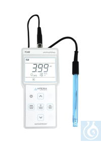PC400 Portable pH/Conductivity/TDS Meter Kit The high quality 201T-S 3-in-1...