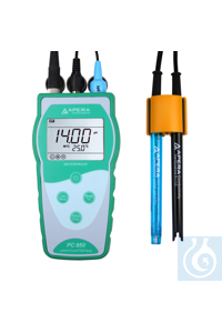 PC850 Portable pH/Conductivity/TDS Meter Kit The Apera Instruments PC850...