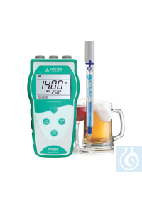 PH850-BR Portable pH Meter for Beverage Making, equipped with LabSen 213...