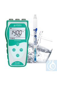 PH850-PW Portable pH Meter for Purified Water...