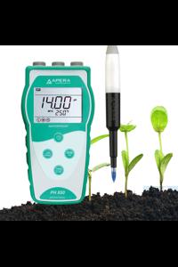 PH850-SL Portable pH Meter for Soil (Direct Measurement) The Apera...