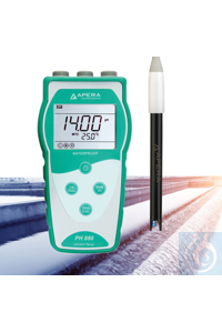 PH850-WW Portable pH Meter for Wastewater Treatment The Apera Instruments...