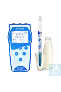 PH8500-DP Portable pH Meter for Dairy Products (Milk, Cream, Yogurt) and...