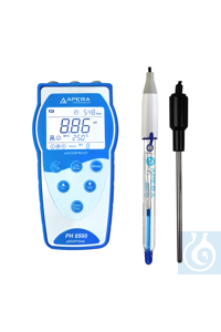 PH8500-HF Portable pH Meter for Solutions containing Strong or Hydrofluori...