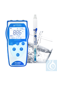 PH8500-PW Portable pH Meter for Purified Water...