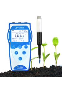 PH8500-SL Portable pH Meter for Soil (Direct Measurement) Equipped with Swiss...