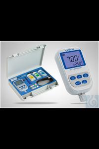 SX711 Tragbares pH-Messgeräte-Set im Koffer